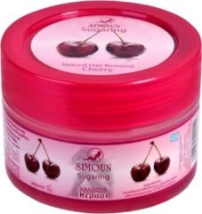 Simoun Suiker Wax Cherry 300g - Ontharingshars - Suikerhars voor ontharen