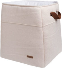 Witte Baby's Only Opbergmand Sparkle goud-ivoor mêlee