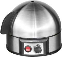 Eierkoker Clatronic EK3321 Met eierprikker, Mett maatbeker RVS (geborsteld)