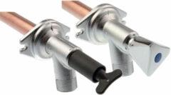 VSH Aqua Secure vorstvrije gevelkraan 3/4x378x15mm messing 4244042