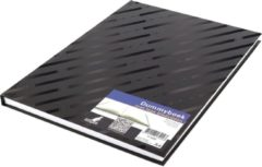 Kangaro Dummyboek A4 80 vellen ongekleurd zwart