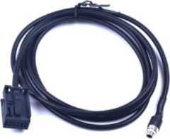 Zwarte Togadget-nl Auto Interface Aux-in audio kabel Opel vrouwtje