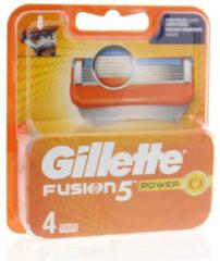 Gillette Fusion5 Power - 4 Stuks - Scheermesjes
