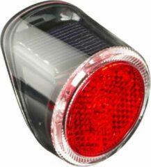 Falkx Achterlicht Led Zonne-energie Rood/zwart