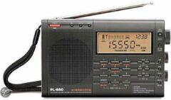 Zwarte Tecsun PL-660 AM-FM-USB-LSB