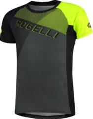 Rogelli MTB Shirt Adventure 2.0 - Zwart/Grijs/Fluor - Maat 2XL