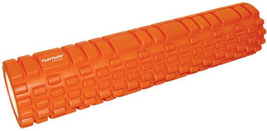 Afbeelding van Tunturi Yoga Grid Foam Roller - Foam roller the grid - Foamroller - Fitness Roller - Triggerpoint roller - Foam massage roller - 61cm - Oranje