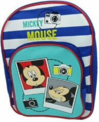 Blauwe Questcontrol BV Mickey Mouse rugzak - Mickey rugtas