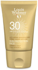 Louis Widmer Sun Protection Face Met Parfum SPF 30 - 50 ml - Gezichtscrème