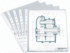 DURABLE Showtassen 266019 A4 2-3-4 - gaats Transparant PP 21 x 29 7 cm 60 micron 100 Stuks