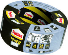 Pattex Power Tape Ducttape Ducktape Waterbestendig - 50 Meter - grijs