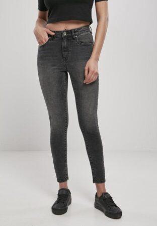 Afbeelding van Urban Classics Skinny jeans -29/32 inch- High Waist Zwart