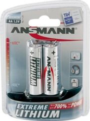 Ansmann Energy Ansmann Mignon Extreme Lithium - Batterie 2 x 5021003