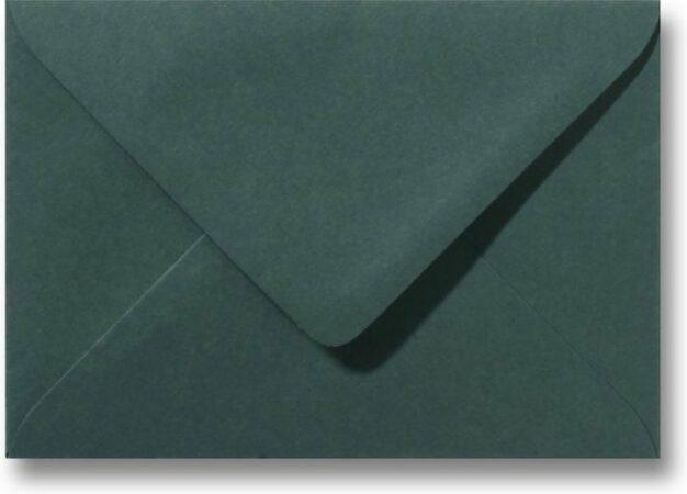 Afbeelding van Enveloppenwinkel Envelop 9 x 14 Donkergroen, 100 stuks