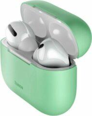 Baseus Siliconen AirPods Pro Hoesje - Groen