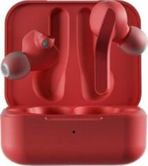 HYPHEN 2 Draadloze oordopjes Bluetooth 5.0 oortjes l In ear oortjes draadloos met 36 uur batterij l Rood