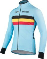 Bioracer - Belgium L/S Jersey Tempest 2.0 - Fietsshirt maat L, turkoois