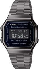 Donkergrijze Casio Vintage Iconic horloge A168WEGG-1BEF