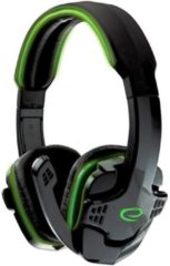 Esperanza Gaming Headset met Microfoon PS4, PC, Windows, Mobile, Xbox One – Wired met Volumeregeling– Groen/Zwart