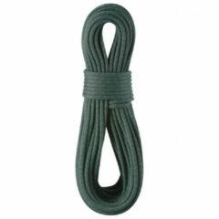Edelrid - Kestrel Pro Dry 8.5 mm - Halftouw maat 50 m, zwart/olijfgroen/grijs/turkoois
