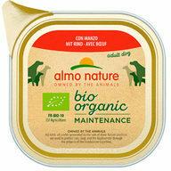 Almo Nature - Bio Organic Maintenance - Rund en Groenten - 9 x 300 g