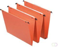 Hangmap Esselte Orgarex Dual B30 330 verticaal oranje