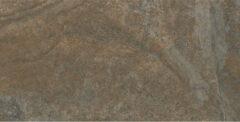 Baldocer Ceramica Baldocer Cerámica Vloer- en wandtegel Howen Walnut 60x120 cm Gerectificeerd Industriële look Mat Bruin SW07310655-1