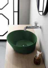 By Goof Mees ronde design waskom 42cm mat groen