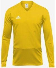 Gele T-Shirt Lange Mouw adidas