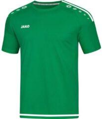 Jako Sportshirt - Maat 140 - Jongens - groen/wit