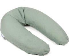 Doomoo Basics Comfy Big Tetra groen - Voedingskussen - Biokatoen - 190cm