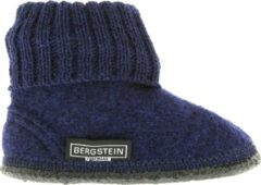 Marineblauwe Bergstein Cozy Sloffen - Junior Unisex - Dark Blue - Maat 20