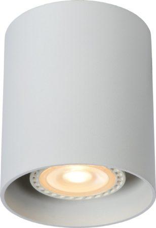 Afbeelding van Witte Lucide Plafondspot Bodi Rond GU10 1-Lichts Dimbaar - Wit