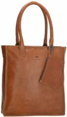 Bruine MicMacbags MicMacgbags Golden Gate Shopper Brown 17352