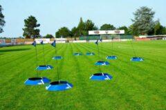 Blauwe Powershot Voetbalgolf Set 10