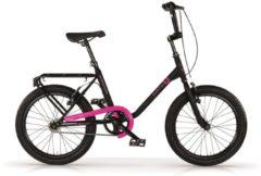 Rosa MBM Citybike 20 Zoll Schwarz-Pink MBM Schwarz-Pink