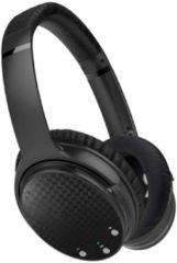 Zwarte RWR Nederland Over-Ear Draadloze Bluetooth Koptelefoon met Actieve Noisecancelling | 12 tot 16 Uur Muziek |Uitstekende kwaliteit + Gratis hardcase