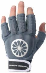 Blauwe The Indian Maharadja Glove shell half [left-d]-M Sporthandschoenen Unisex - denim