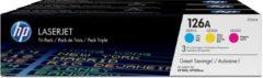 HP 126A - Tonercartridge / Cyaan / Magenta / Geel
