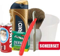 Derby - Astra - Arko - Sedef - Scheerset - 6 Artikelen 1 Prijs - Voordeelset