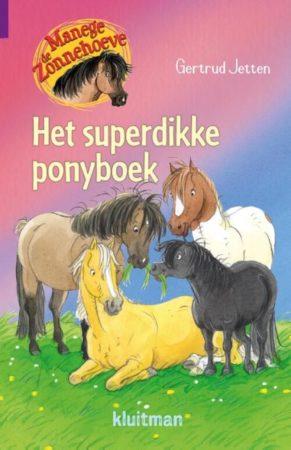 Afbeelding van Ons Magazijn Manege de Zonnehoeve - Het superdikke ponyboek