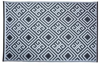Afbeelding van Witte Esschert design Tuintapijt - buitenkleed Grafisch motief - 120x180m