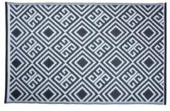 Witte Esschert design Tuintapijt - buitenkleed Grafisch motief - 120x180m