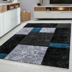 Ayyildiz Design Vloerkleed - Hawaii - Blauw / Grijs - 80x300 CM - Laagpolig