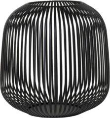 BLOMUS - LITO windlicht zwart Ø27,5 cm (Medium)