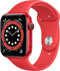 Apple Watch Series 6 44 mm (PRODUCT)RED - (PRODUCT)RED sportbandje