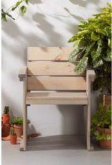 Grijze SenS-Line Toulouse blokstoel - licht grijs