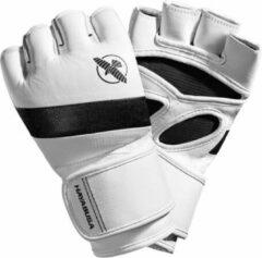Hayabusa T3 MMA Handschoenen - 4 oz - Wit / Zwart - maat L