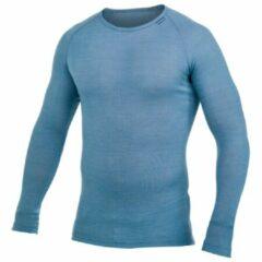 Woolpower - Lite Crewneck - Merino ondergoed maat L, blauw