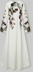 Witte VONDA Calico Long Sleeve V-neck Print Dress